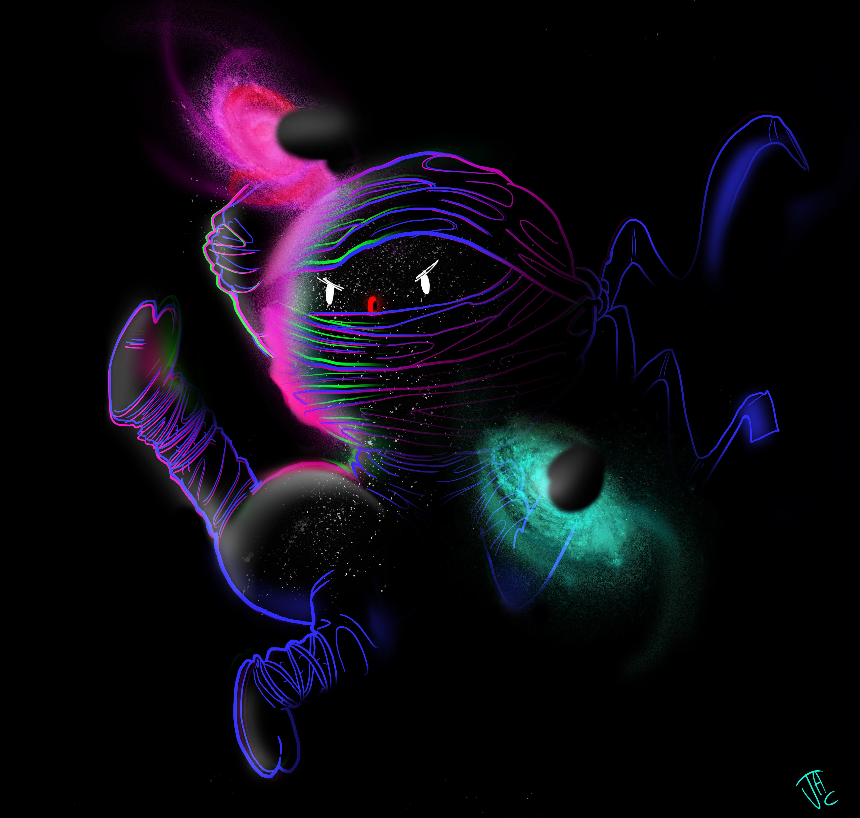 maglia ninja dark energy
