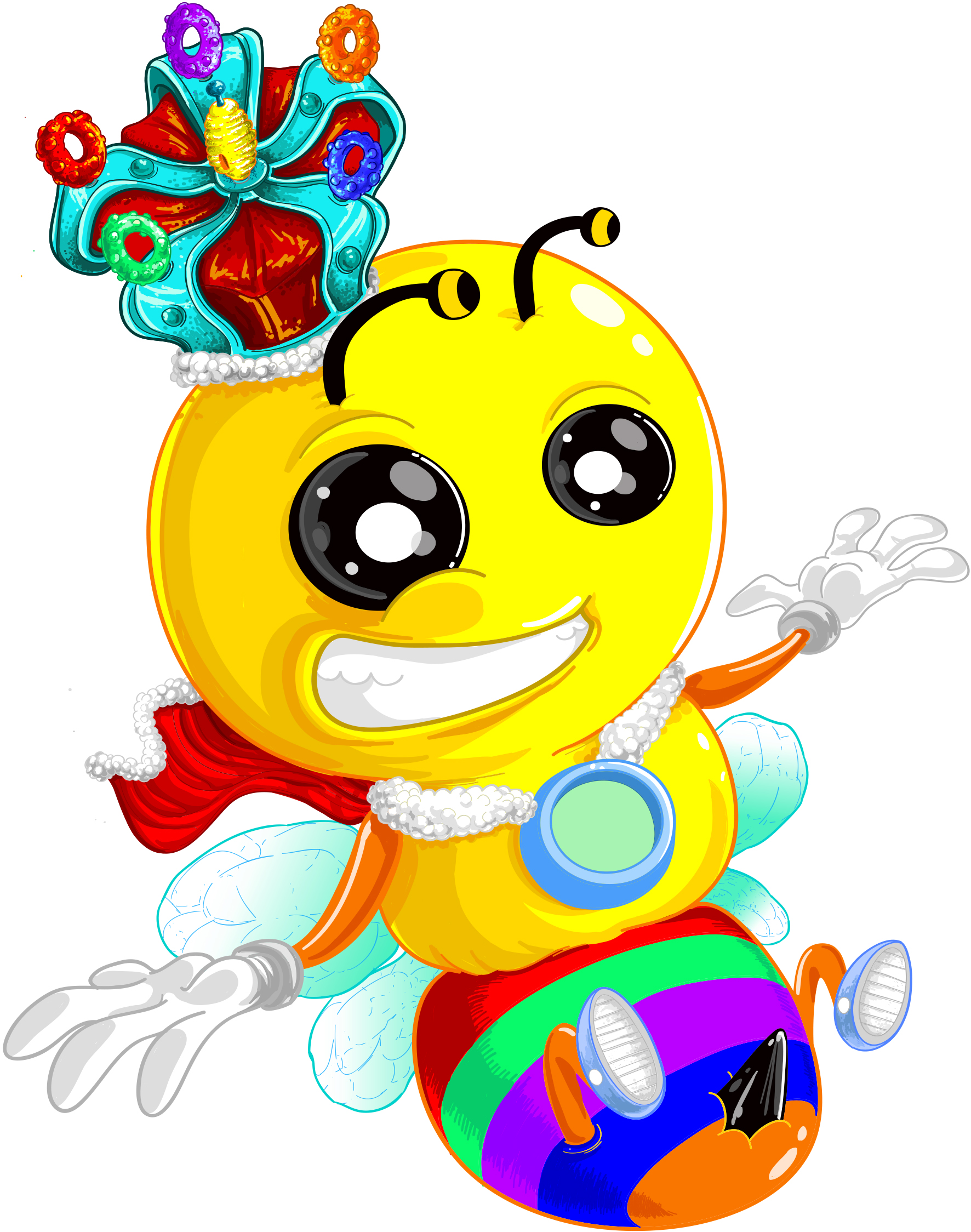 king bee color